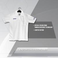 harga Baju Yamaha Blue Core Putih Tokopedia.com