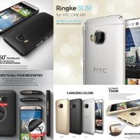Original Premium Reath Ringke Slim Cover Casing Case HTC One M9