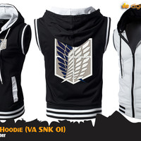 Rompi Hoodie SNK (Vest Anime Attack on Titan)