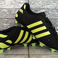 Sepatu Bola Adidas,Adidas Adipure 11Pro Hitam Strip Kuning