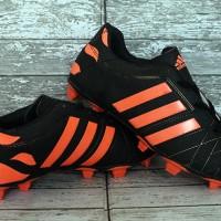 Sepatu Bola Adidas,Adidas Adipure 11Pro Hitam Strip Orange