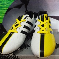 Sepatu Bola Adidas,Adidas 11Pro SL Putih Hitam Kuning