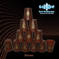 Glaxiuz Sport Stacking Brown Cupz / Speed Cup Stacks (Coklat)