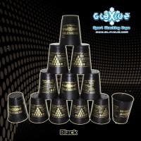 Glaxiuz Sport Stacking Black Cupz / Speed Cup Stacks (Hitam)