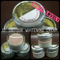 St. Dalfour Beauty Whitening Cream - pemutih + kinclongin wajah
