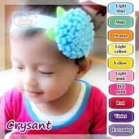 Crysant Felt Headband - Bandana / bando bayi dan anak