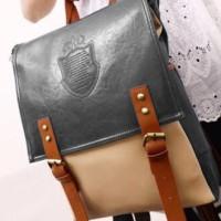 Tas Ransel Import Keren Fashion Korea Style, Men Women Bag, Kulit A016
