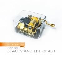 harga Music Box Import / Kotak Musik Vintage Beauty & The Beast Tokopedia.com