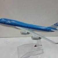 KLM Airlanes Pesawat Terbang Full Diecast ( PT008 )