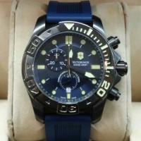VICTORINOX RUBBER BLUE CRONOGRAPH
