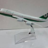 Eva Air Pesawat Terbang Full Diecast ( PT034 )