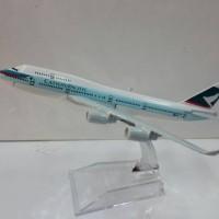 Cathay Pacific Pesawat Terbang Full Diecast ( PT069 )