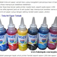 Tinta NOZZ 100ml Anti air & Anti Pudar