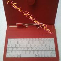 Softcase Keyboard Tab / Tablet 7 inc Merah
