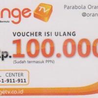 Voucher ORANGE TV 100