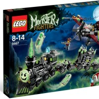 LEGO Monster Fighter (9467) The Ghost Train