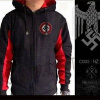 harga JAKET ZIPPER HOODIE JUMPER SWEATER / NAZI Tokopedia.com