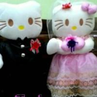Jual Sepasang Boneka Hello Kitty Merried Murah