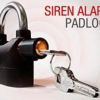 Sirene Alarm Pad Lock Gembok Alarm Pagar Sepeda Motor Anak Pria Wanita