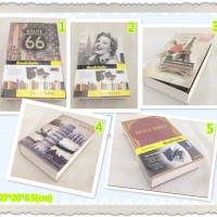 Safe book 2nd BESAR Buku Brankas kotak penyimpanan BATU AKIK DIAMOND