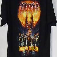 EXODUS Kaos Band Rock Metal Musik GILDAN ULTRA SIZE L