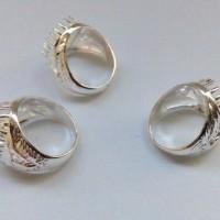 1 kodi Cangkang Batu Perak Malaysia / Ring Batu Ci