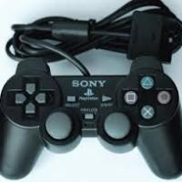 GAME STICK GETAR PS2 STIK ANALOG PS 2 BLACK HITAM