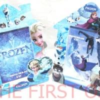 Frame / Bingkai Foto / Photo Frozen Elsa dan Ana (BIRU)