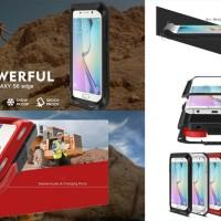 Jual Love Mei Powerful Armor Cover Casing Case Samsung Galaxy S6 Edge