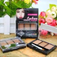 Kiss Beauty eyebrow powder (3 colour in 1) - 9369