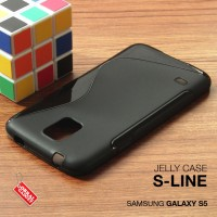Samsung Galaxy S5 Soft Gel Jelly Silicon Silikon TPU Case Softcase