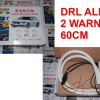 DRL FLEXIBLE LED OSRAM ALIS 60 CM 2 WARNA SENJA DAN SEIN
