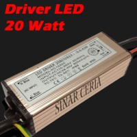 Driver LED 20W AC 220V Waterproof IP65 In 85-265V Power Supply 600mA