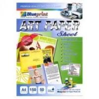 Kertas Art Paper Blueprint A4-150 Gr (Pack=50 Sheet)