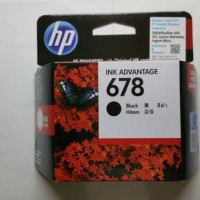TINTA HP 678 BLACK ORIGINAL