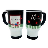 "Sablon Mug Stainless ""A+Teacher"" Gratis Custom Nama by Char & Coll"