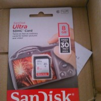 Memory SD Card SanDisk SD Ultra 8 GB
