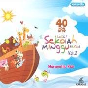 VCD 40 Nonstop Lagu Sekolah Minggu Abadi Vol.2 (KARAOKE)
