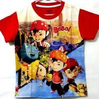 Kaos Boboiboy Merah Besar