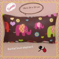 Bantal Imut Kain Katun Handmade elephant
