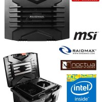 Raidmax TROY the Trully Portable inteL core i5 PC