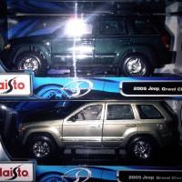 Diecast Maisto 1:18 - 2005 Jeep Grand Cherokee