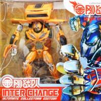 Mainan Robot Transformers 4 Bad Bumblee Bee InterChange