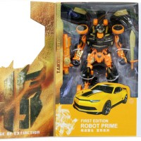 Mainan Robot Transformers 4 Bumble Bee Hitam
