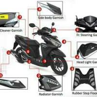 harga Aksesoris Honda Vario 150 / 125 Esp Honda Genuine Paket Isi 7 Tokopedia.com