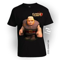 COC Giant utk ANAK, kaos 3D by Square