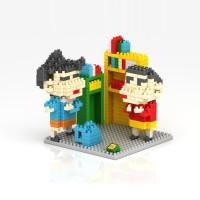 Loz Lego Nano Block Shinchan 9465