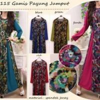 Baju Gamis - Maxi Payung Jumput CE20115
