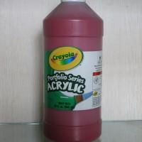 Crayola Portfolio Series Acrylic Paint Deep Red 946 Ml