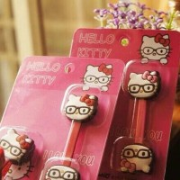 Cord Holder HELLO KITTY KACAMATA